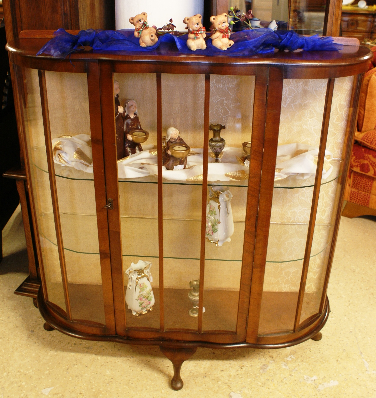 english antique display cabinet. English Mahogany Display Cabinet Antique Y
