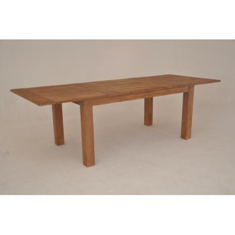 Teak Butterfly Extension Table Lucs - Teak extension table outdoor