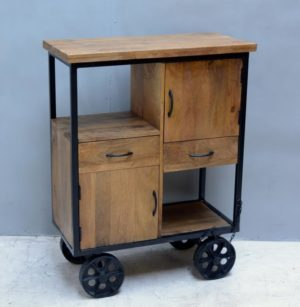 Cabinet with Wheels