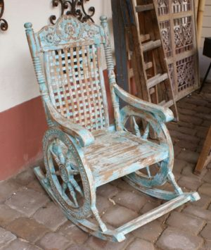 Sheesham rocking chair