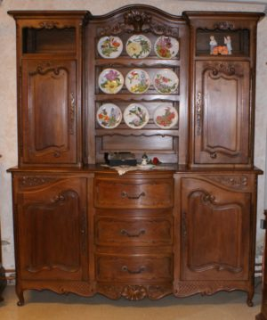 French Provence Walnut Buffet