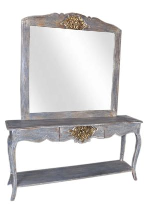 Sideboard with Vanity Mirror