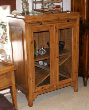Distressed Pine Cabinet