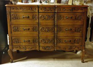 Louis XV Oak Dresser