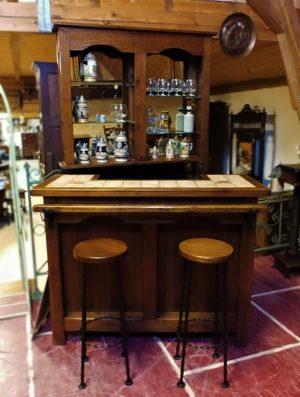 Belgium Oak Bar Set