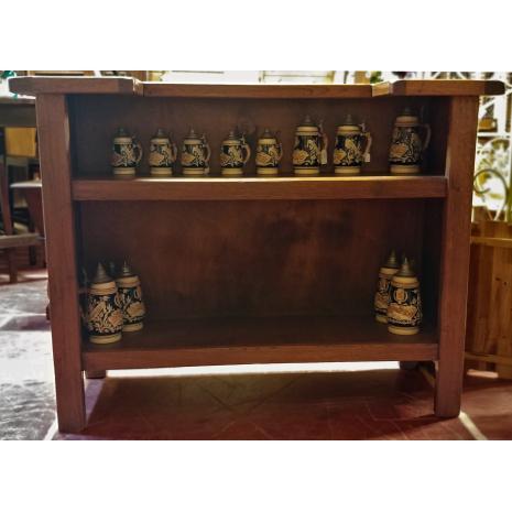 Belgium Oak Bar Set Bar Back