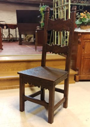 Flemish Renaissance Oak Chair