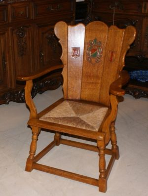 Flemish oak chairs