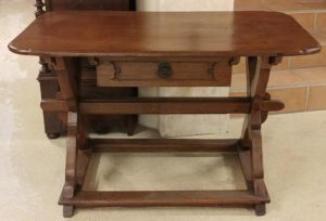 Belgian Oak Writing Desk