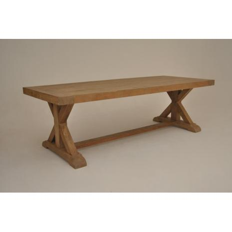 Teak Cross Table