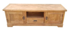 Light Teak TV Cabinet